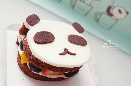 熊貓哥水果蛋糕